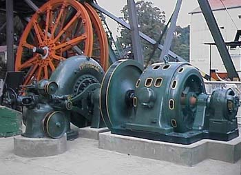 TURBINE USED AT SABIE RIVER GORGE HYDRO STATION